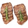 Stock Photo: Grilled steaks