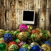 Christmas decorations — 图库照片
