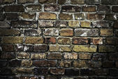 Old brick wall — Foto Stock