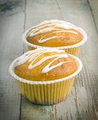 Due muffin — Foto Stock