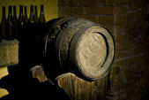 Oak wine barrel — Stock Photo
