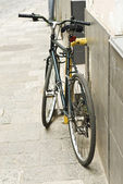 Bicycle on street — Stock Photo