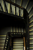Top view of staircase — Stock Photo