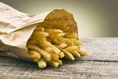Potatoes fries — Stock Photo