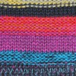 Multicolored knitted pattern — Stock Photo
