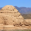 Imperial Tombs of Western Xia in Ningxia province of China — Stock Photo