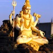 Stock Photo: Statue of Lord Shivin Karnataka