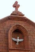 Christian church in Baga, Goa, India — Stock Photo