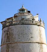 The lighthouse at Fort Aguada, Goa, India — Stock Photo