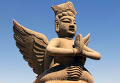 Clay statue of mythological flying celestial, Ningxia, China — Stock Photo