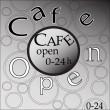 cafe open — Stock Photo #34532231