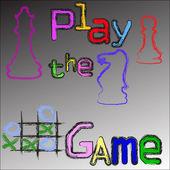 Oyunu oyna — Stok fotoğraf