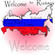 Foto Stock: Welcome to Russia