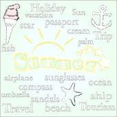 Summer time.Season. — Stock Photo