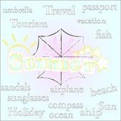 Time.season de verão. — Fotografia Stock
