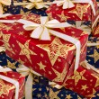 A lot of gifts — Stock Photo