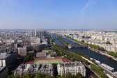 Paris, view from the Eiffel Tower — Stock Photo