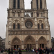 PARIS - APRIL 29: Notre Dame cathedral in Paris, France on April 29, 2011. — Stockfoto