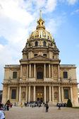 PARIS, FRANCE - APRIL 30: Chapel of Saint Louis des Invalides on APRIL 30, 2011 in Paris. — Foto de Stock