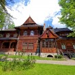 Old house in mountain style, in Zakopane, Poland. — Stock Photo #40063659