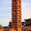 Постер, плакат: Tower of the church of Santi Giovanni e Paolo in Rome