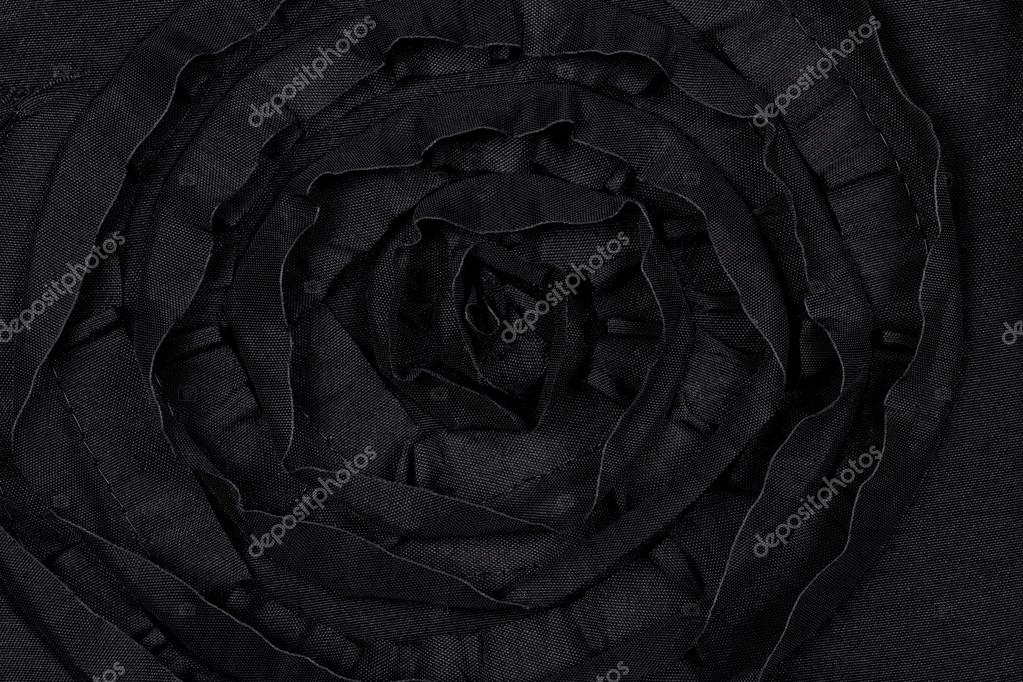 Black Fabric Background Black Fabric With Flower