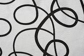 серебряный материалы в абстрактный узор, фон — Стоковое фото