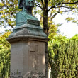 Honore de Balzac, monument in the cemetery Pere Lachaise, Paris — Stock Photo #44063947