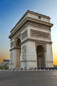 Arc de Triumph, in Paris — Stock Photo