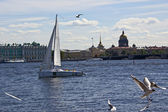 Neva. Saint-Petersburg — 图库照片