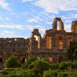 Ancient Roman amphitheater in El Jem, Tunisia — Stock Photo