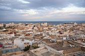The top view of the Medina (historical part of the city) of Sousse, Tunisia — Stock Photo