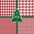 Seamless fashion christmas texture. — Stock Vector