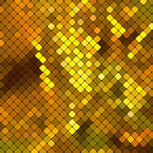 Metallic gold mosaics. — Vettoriale Stock