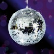 Disco ball background — Imagen vectorial