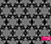 Snowflake pattern. — Stock Vector