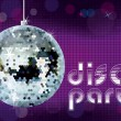 Stock Vector: Disco party background.