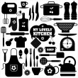 Kitchen set icon. — Stock Vector
