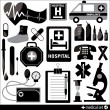 Medical Icons. — Stock Vector #37123875