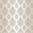 Seamless silver pattern — Stock Vector