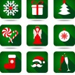 Christmas icon set. — Stock Vector