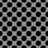 Simple seamless black and white pattern — Stockvector
