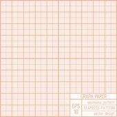 Graph paper seamless pattern. — Stock Vector