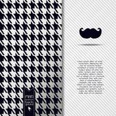 Man seamless pattern. — Stock Vector