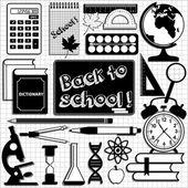 School background. Seamless pattern. — Stock Vector