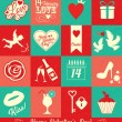 Valentine card — Vector de stock #38472453