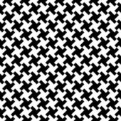 Moda siyah beyaz yazdırma. — Stok Vektör