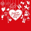 Valentine card — Vector de stock #39365303