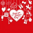 Valentine card — Vector de stock #39365309