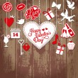 Valentine card — Vector de stock #39365347